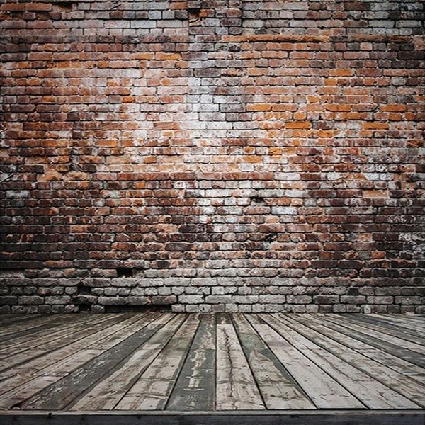 5x7ft Retro Brick Wall Photography Studio Wall Background Vinyl