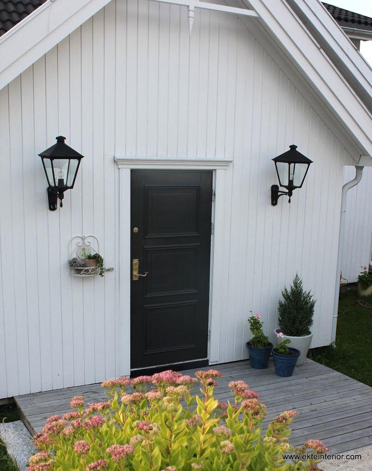 Bilderesultat for ytterdør hvitt hus