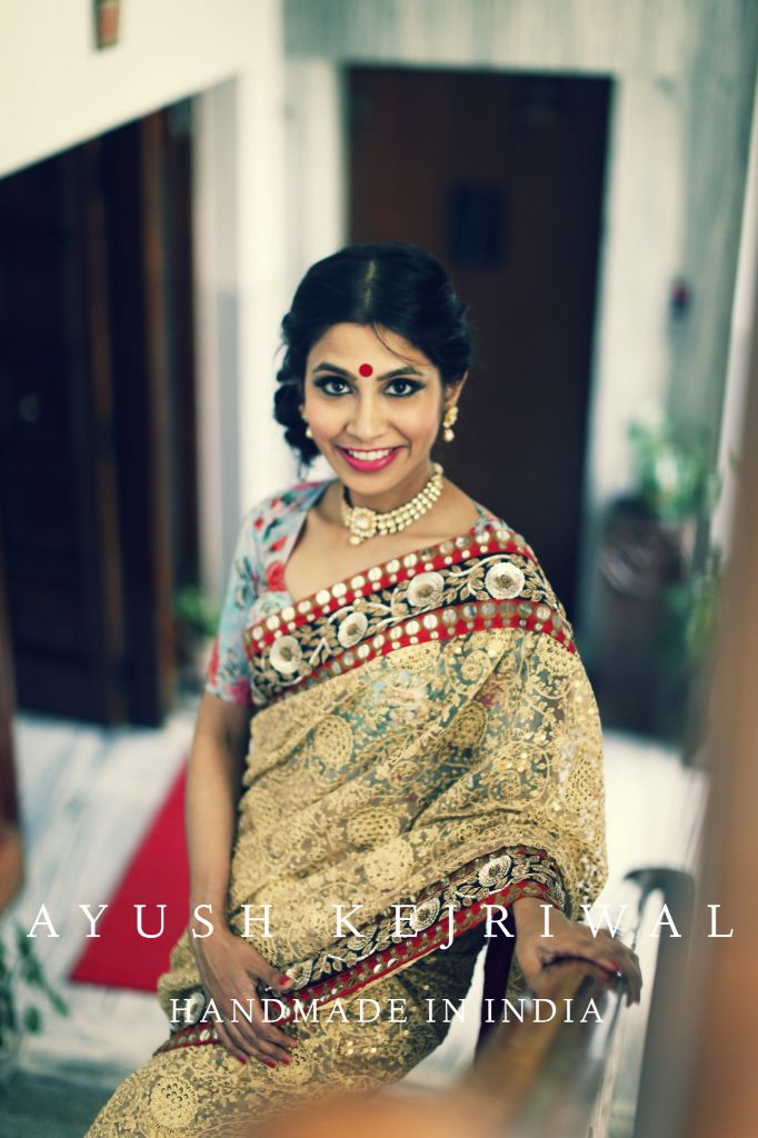 Saree by Ayush Kejriwal. For purchases email me at ayushk@hotmail.co.uk or what's app me on 00447840384707 #sarees,#saris,#ind