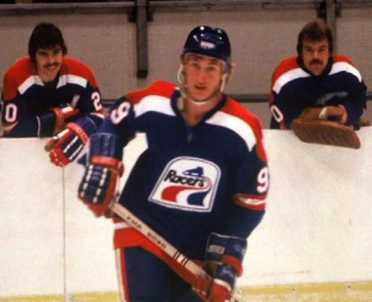 In 1978 at the age of 17, Wayne officially became a professional.  Wayne signed with the Indianapolis Racers of the WHA making him the youngest athlete playing in a major league sport in North America.  He only played eight games for the Racers before being traded to the Edmonton Oilers.  Wayne played his first full NHL season in 1979-80 for the Oilers. He dominated the sport over the next couple decades where he broke several league records.