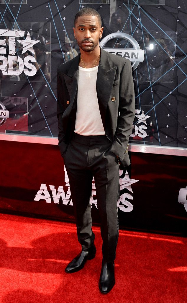 Big Sean from 2015 BET Awards: Red Carpet Arrivals  The rapper is both handsome and effortless on the red carpet.