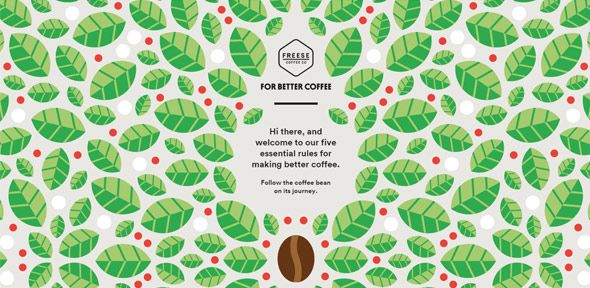 40 Beautiful Websites with Pattern Backgrounds