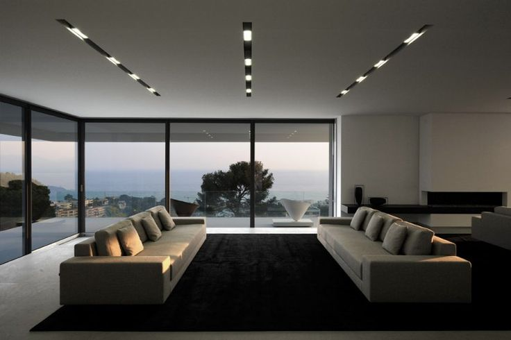 Sleek, minimalist Private residence in France _