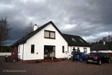 Torlundy House B&B in Fort William Scotland