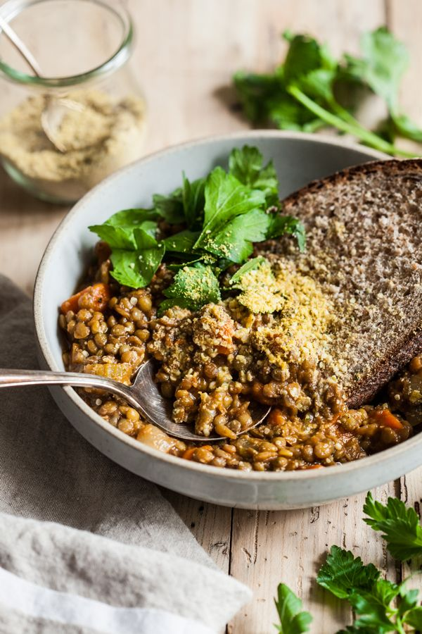 This super simple French lentil soup is a perfect meal for a cold winter's night: hearty, nourishing, and incredibly easy to make.