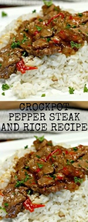 Crockpot Pepper Steak and Rice Recipe  If you are sensing for an painless but pl…