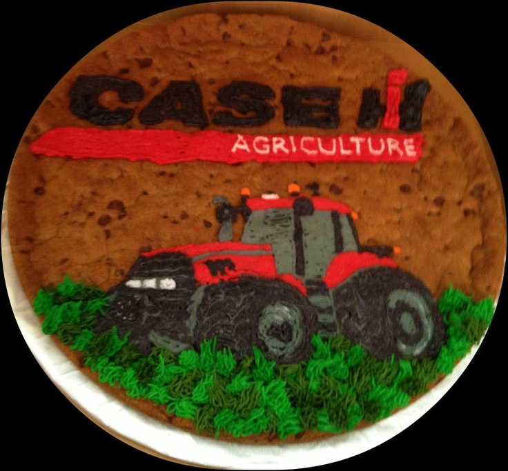 Case IH Cookie Cake. This one for the boys in my house:)