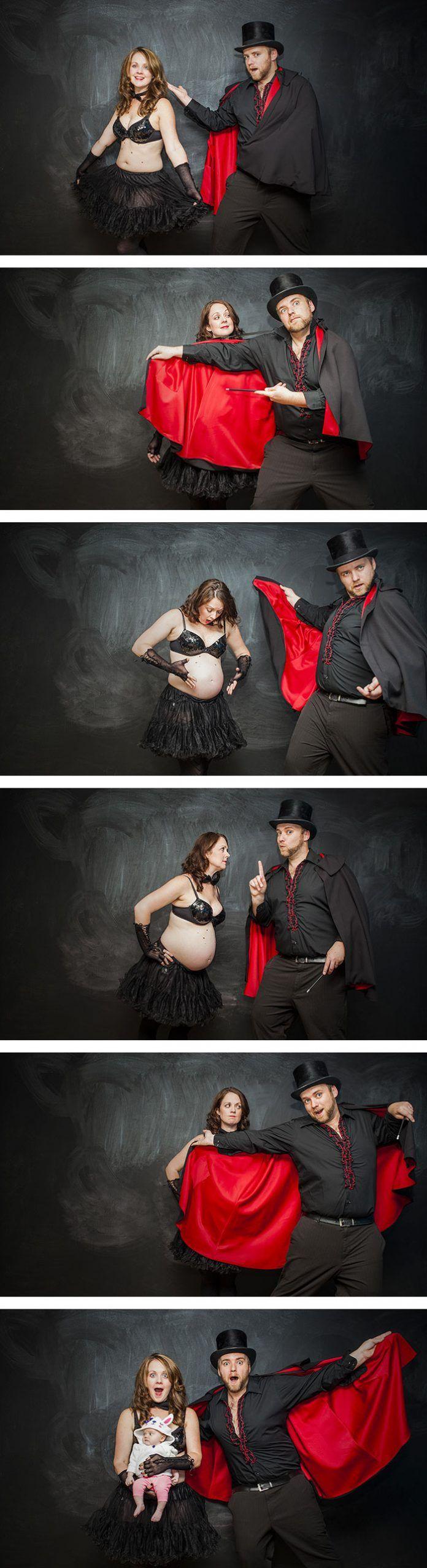 Grossesse : 15 superbes photos avant / après l'arrivée du bébé ! Humour, poésie et émotion.