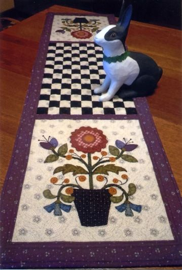 Patio Pots - QWJ-30 - Quilt with Judy - find pattern here: http://quiltwithjudy.com/pattern_gallery/index.html#