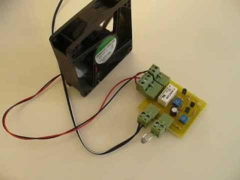 Controlador para ventilador o cooler   Inventable