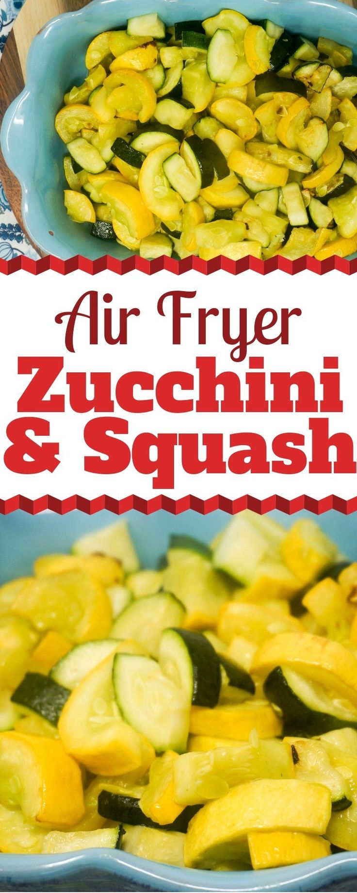 Air Fryer Zucchini and Yellow Squash Recipe Vegetable