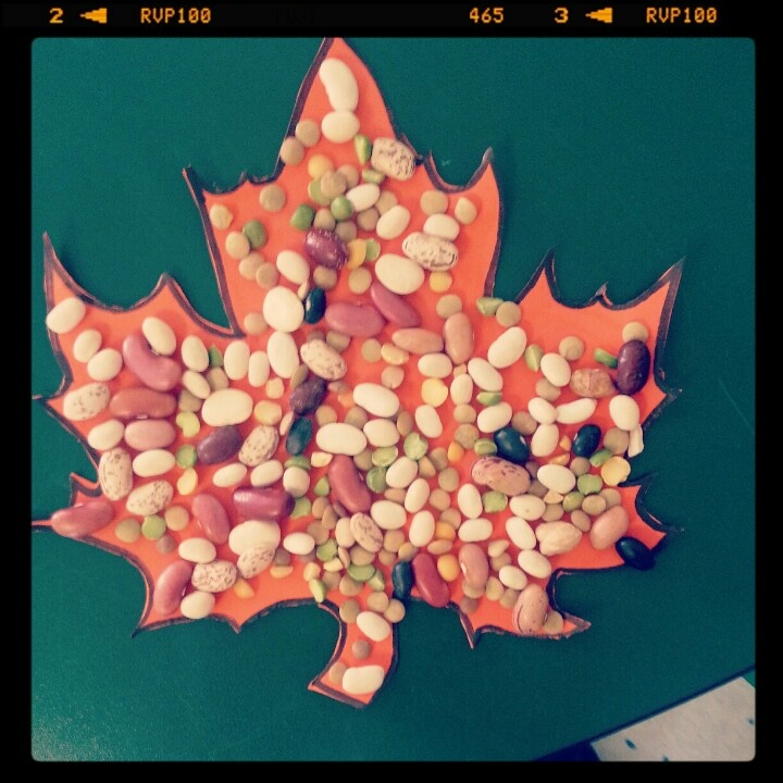 Fall craft for kids crafts pinterest crafts beans for Harvest crafts for kids
