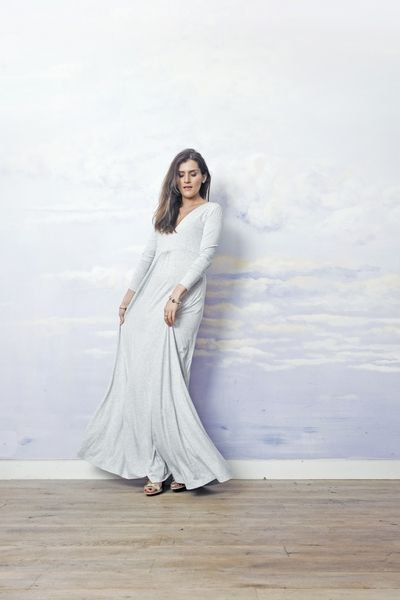 suknia do ziemi MARIA ANTONINA w RISK made in warsaw na DaWanda.com