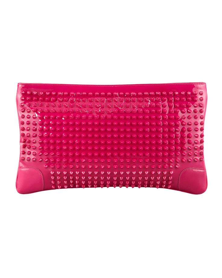 (Ok, Pink can live here, too.)  ROCK CHICK CHIC: Pack a punch with Christian Louboutin.