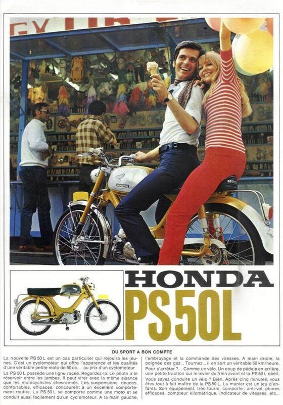 honda ps50 moped