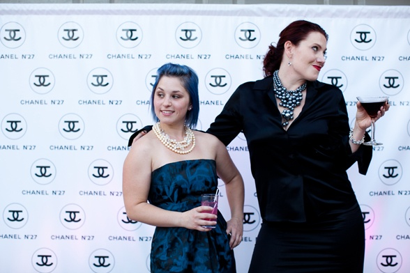 Chanel birthday party, step and repeat at party, photo backdrop for party, Chanel party ideas