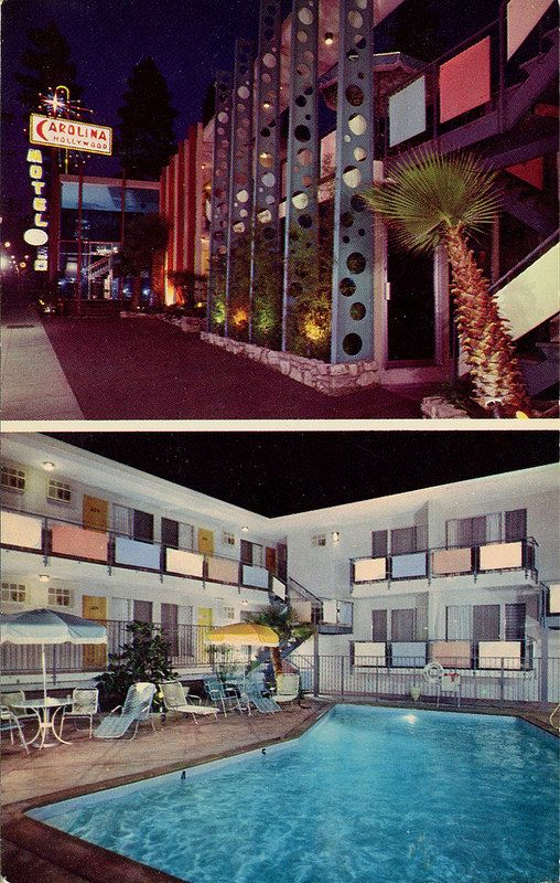 Carolina Hollywood Motel California
