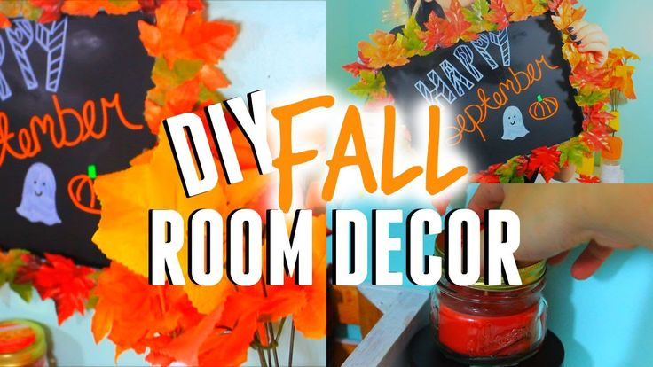 DIY Fall Room Decor: Make your Room look Cozy! Tumblr Inspired! Cute and simple fall DIY ideas that you need to try!