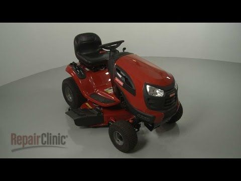 Craftsman lawn tractor brakes - YouTube