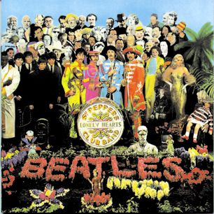Rolling Stone's Top 500 Albums of All Time ~ #1 Sgt. Pepper's Lonely Hearts Club Band - The Beatles