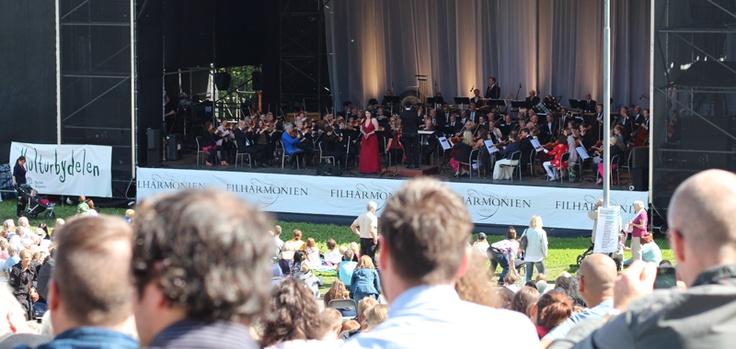 Oslo Filharmonien public concert, was great!