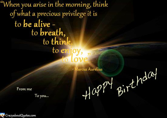 Inspirational Birthday Wishes family   Inspirational Birthday Quotes from CrazyaboutQuotes.com