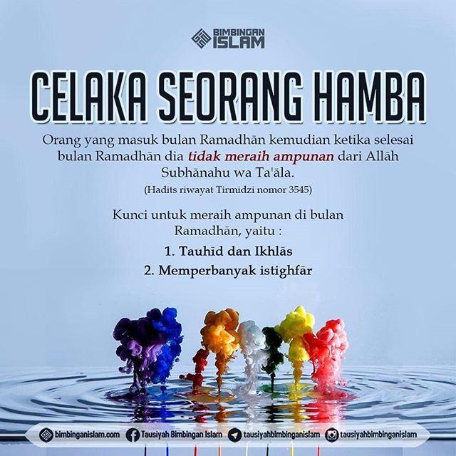 Mari Manfaatkan Kesempatan Di Bulan Ramadhan Sebaik Baiknya