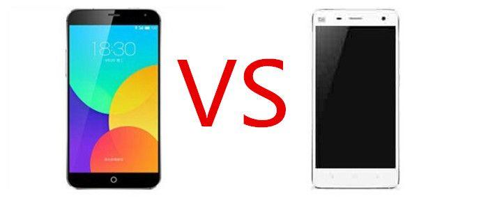 Xiaomi Mi4 vs Meizu MX4 Pro
