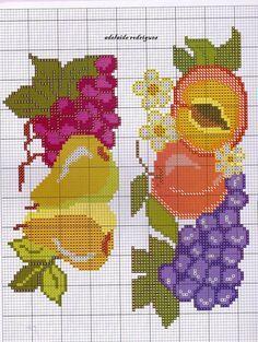 Meu Cantinho: Gráficos de Frutas !!!