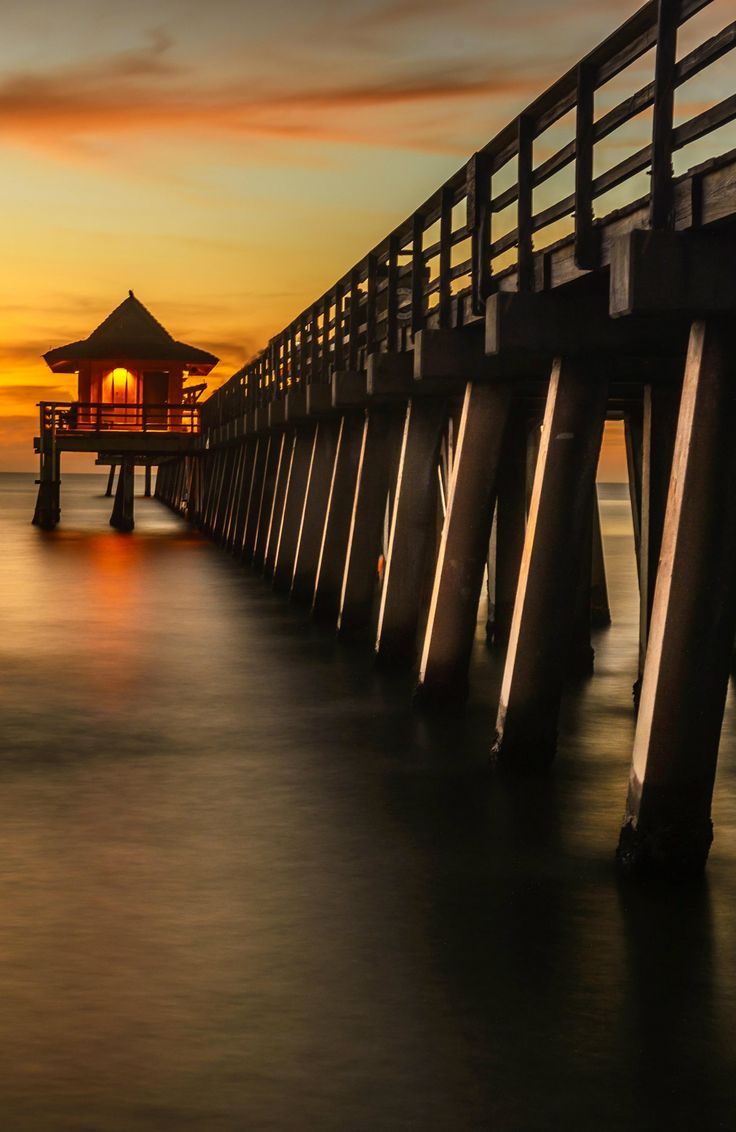 The pier in Naples, Florida.