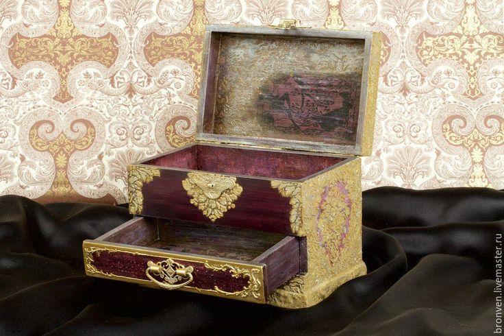 """Маленькие радости (bronven) - Шкатулка для украшений и драгоценностей """"Серсея Ланнистер"""""""