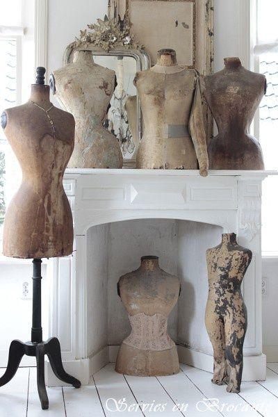 510 best images about dress form on pinterest antiques brocante and shabby. Black Bedroom Furniture Sets. Home Design Ideas