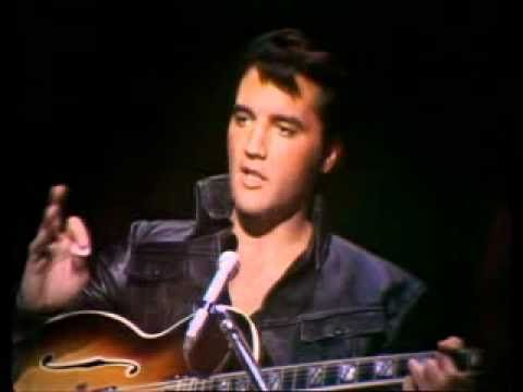 It's the anniversay of Elvis passing away, and this is my favorite video of him singing! ELVIS PRESLEY -  LAWDY MISS CLAWDY -  68 COMEBACK SPECIAL