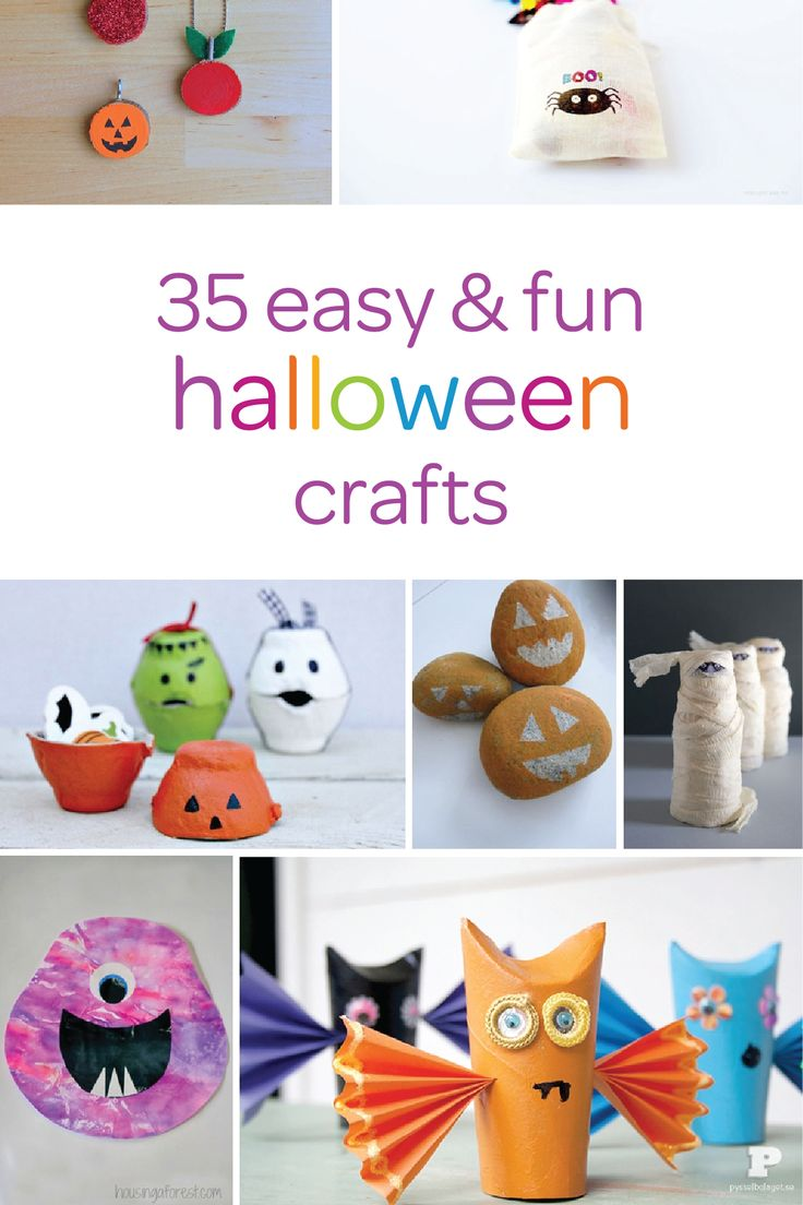 Celebrate The Arrival Of Fall With Your Toddler By Creating These Spooky Halloween Crafts Together