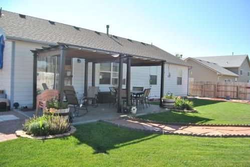 two pergolas side by side - http://www.homedepot.com/p ...