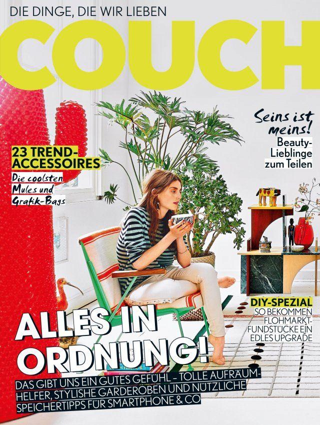 COUCH im Abo, Gruner + Jahr Couch, Abo, Living, Fashion, Beauty | COUCH – DAS ERSTE WOHN & FASHION MAGAZIN