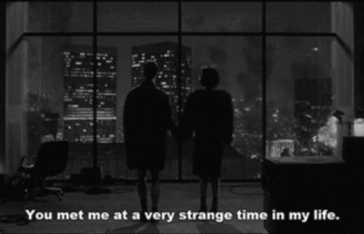 You met me at a very strange time in my life - Fight Club • By David Fincher (1999)
