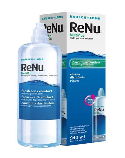 RENU 360ml - 7.20€ - Καθαριστικό μαλακών φακών επαφής.