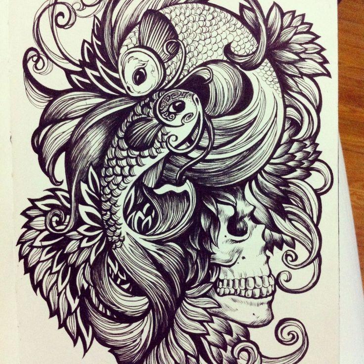 20 Unique Pisces Tattoos Compass Ideas And Designs