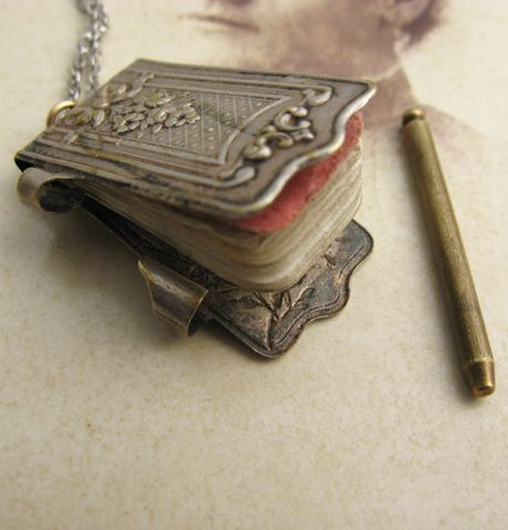 Antique dance card holder.  Delicate beauty.