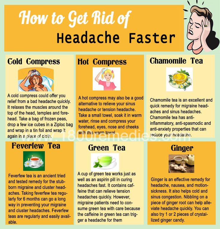 Natural Ways To Get Rid Of Migraine Headaches