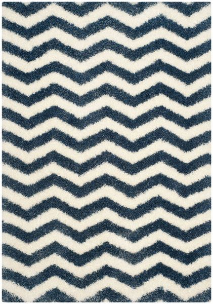 Safavieh Montreal Shag Ivory Blue Area Rug At Lowe S Canada Find Our Selection Of Rugs The Lowest Price Guaranteed With Match Off