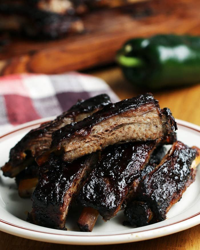 You Can Even Get The Recipe Right Now Here S Block Party Ribs As Made By Marcus Samuelsson Pulled Pork Grill Recipe Recipes Barbecue Ribs
