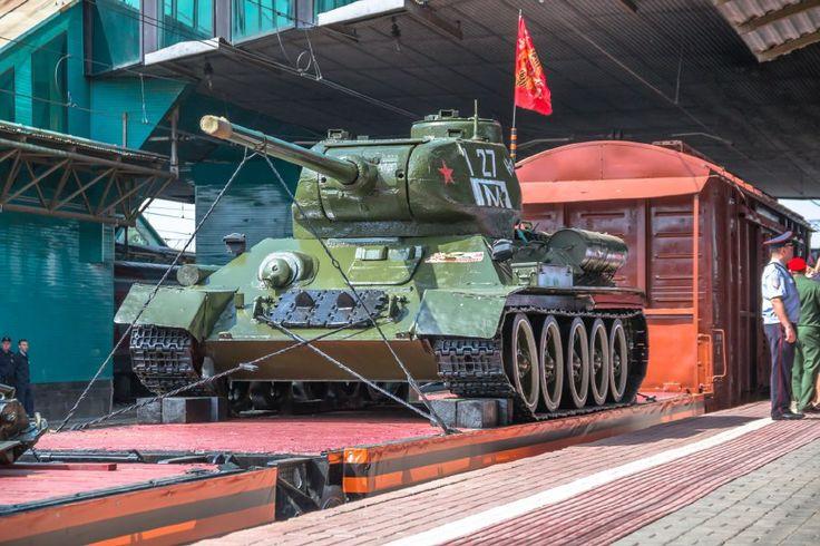 T-34 pour le défilé de la victoire du 9 mai 2017