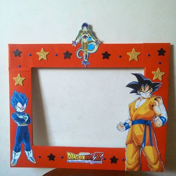 Decoración de dragon ball para cumpleaños http://tutusparafiestas.com/decoracion-dragon-ball-cumpleanos/