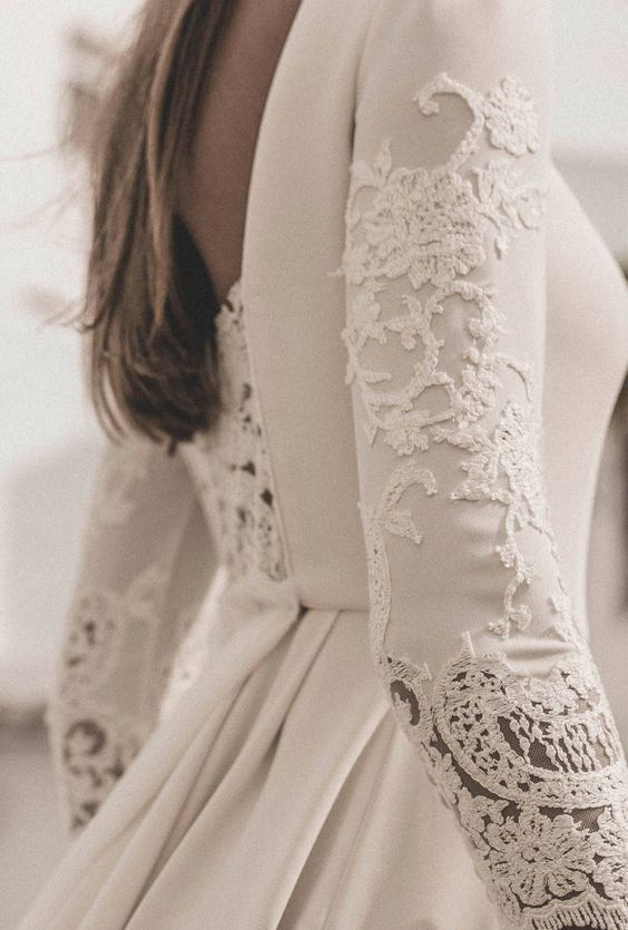 vestidos de novia, espaldas
