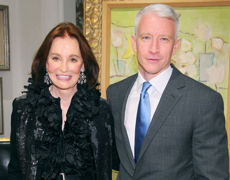 "No inheritance for Anderson! CNN anchor Anderson Cooper (born June 3, 1967), who comes from the Vanderbilts, one of the wealthiest families in American history, said March 31, 2014, that he will not be receiving any fortune from his mother Gloria Vanderbilt (born February 20, 1924). ""My mom's made clear to me that there's no trust fund,"" Cooper told Howard Stern on his radio show. ""There's not of that."""
