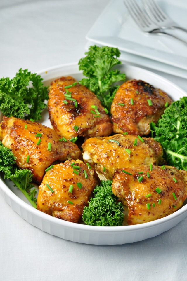 Honey Mustard Chicken with Turmeric |www.flavourandsavour.com Creamy, spicy sauce on crispy chicken.