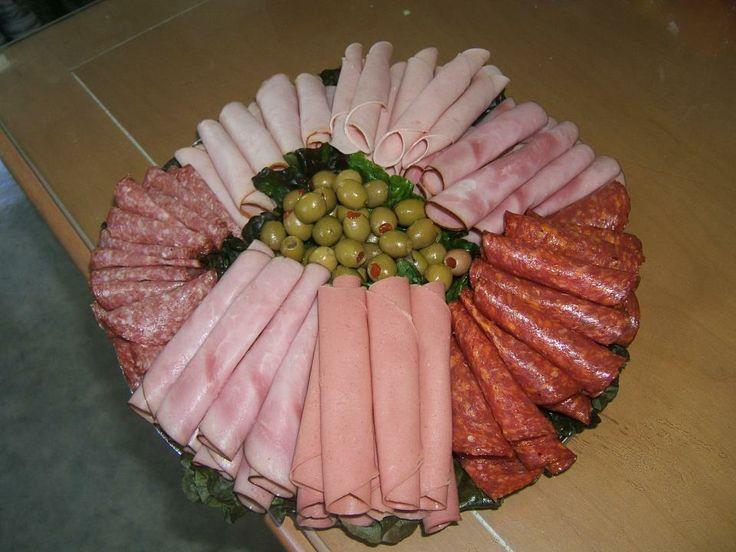 plateau de viande froide