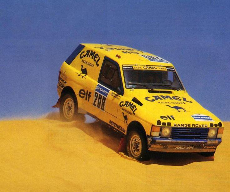 Range Rover Rally Raid Car